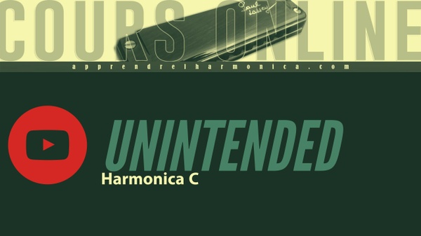 Unintended - MUSE - Harmonica C