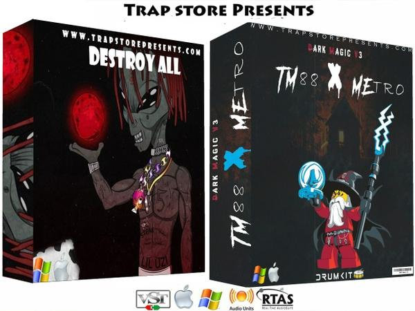 Trap Store Presents -Destroy All Percs & TM88 & METRO DARK MAGIC V3