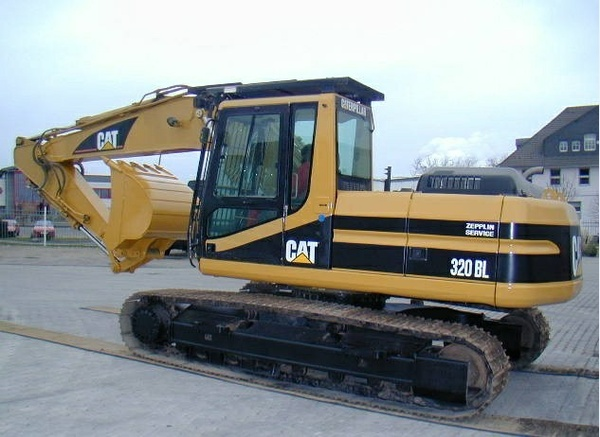 Caterpillar Cat 320B 320L Track-Type Excavators Parts Manual DOWNLOAD