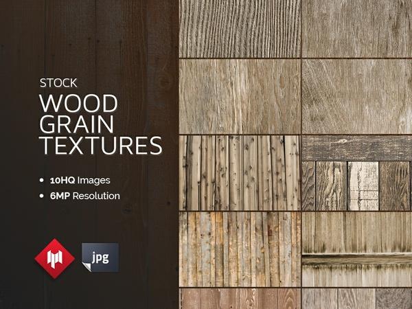 Stock   Wood Grain Textures