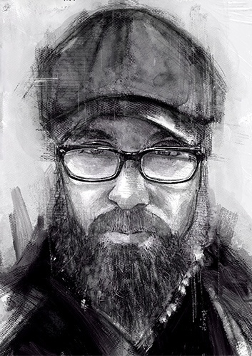 A portrait of JERHAUN - Social Media Friend - Cheap Portrait - USD3 only!