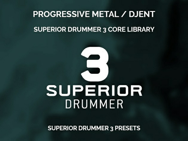 Superior Drummer 3 Presets // Progressive metal & djent style