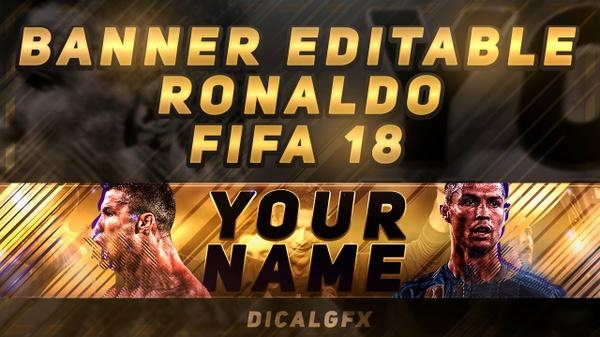 FIFA 18 BANNER TEMPLATE!