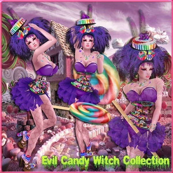 Evil Candy Witch Collection Limited Master Resell Rights!!! 0/6 People
