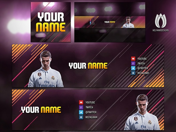 FIFA 18 Social Media Rebrand - YouTube, Twitter, & Twitch