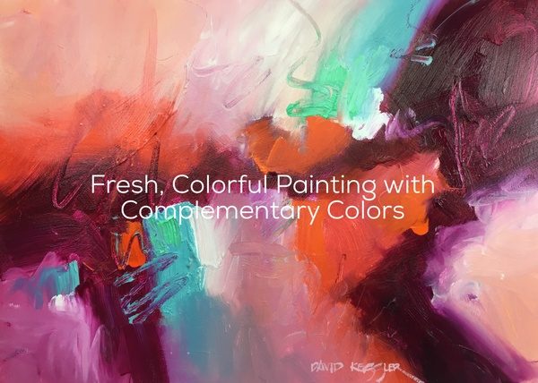 Fresh, Colorful Painting with Complementary Colors