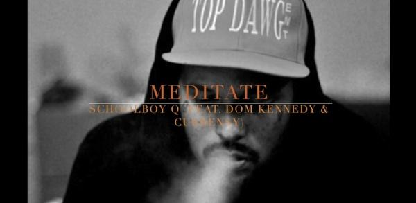 """Meditate"" Schoolboy Q x Dom Kennedy x Curren$y Type Beat (Prod. BlakKat)"