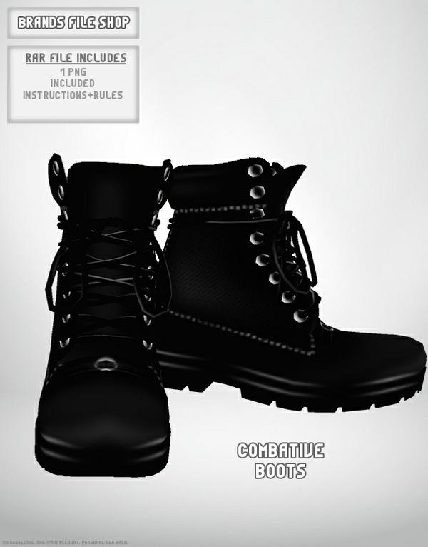 Combative Boots