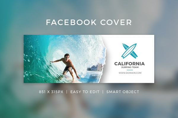 Creative Facebook Cover V19