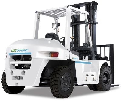 Nissan Diesel Forklift Truck 1F6: 1F6F60U, 1F6F70U, 1F6F80U with 6BG1 engine Service Manual