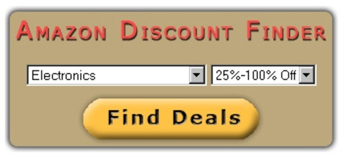 Amazon Discount Finder Software