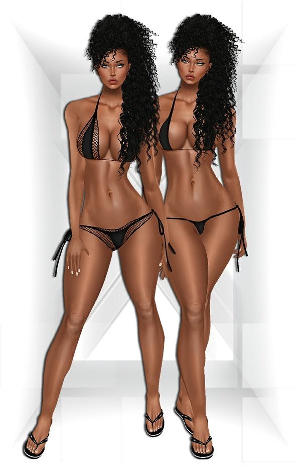 Bikini + Flip Flops