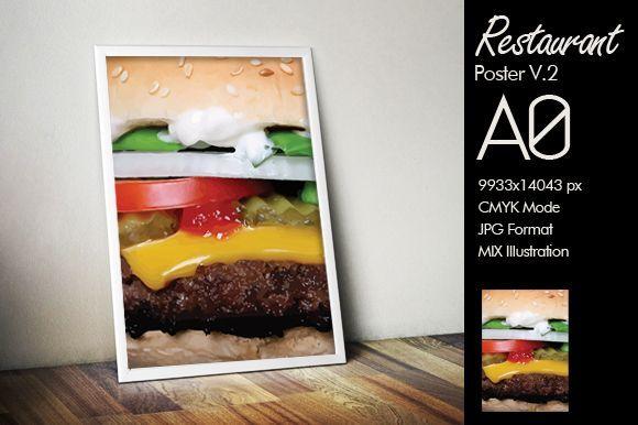 Restaurant Poster A0 v.2
