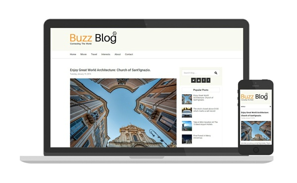 Simplebuzz blogger template