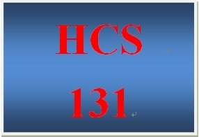 HCS 131 Week 4 Consumer Relations Bulletin
