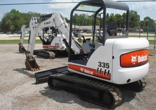 BOBCAT 335 COMPACT EXCAVATOR SERVICE REPAIR MANUAL (S/N: A16U11001 & Above)