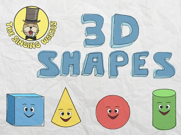 3D Shapes Song Video (mp4)