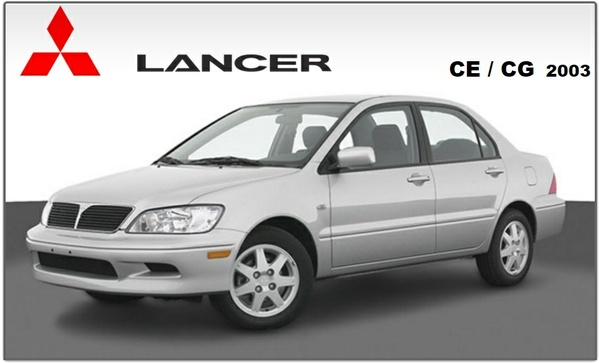 Mitsubishi Lancer CE CG 2003 Repair Service Manual