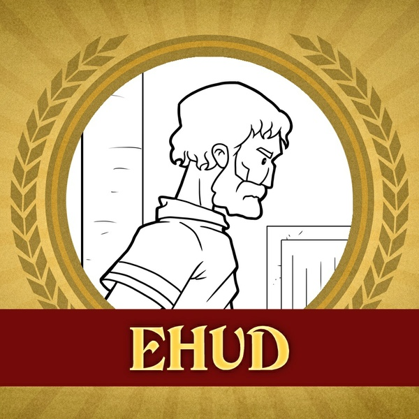 The Heroes of the Bible Coloring Pages: Ehud