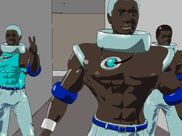 S-2, Ep.2 Space Negroes Pt.2  Black Arch.