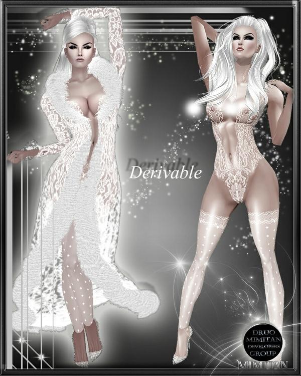 Lace Fur + lingerie