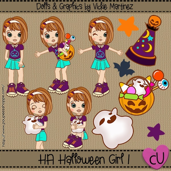 HA Halloween Girl 1