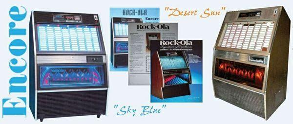 Rock-Ola    494, 494-1, 494-2    (1987-88)  Manuals & Brochure