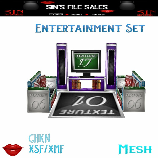 Entertainment Set * Mesh