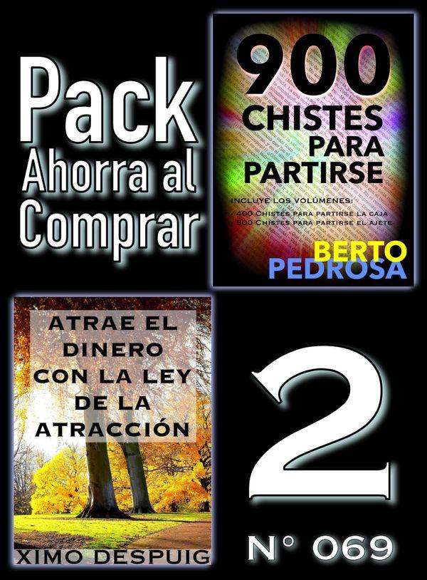 Pack Ahorra al Comprar 2 (Nº 069): Atrae el dinero con la ley de la atracción & 900 Chistes...