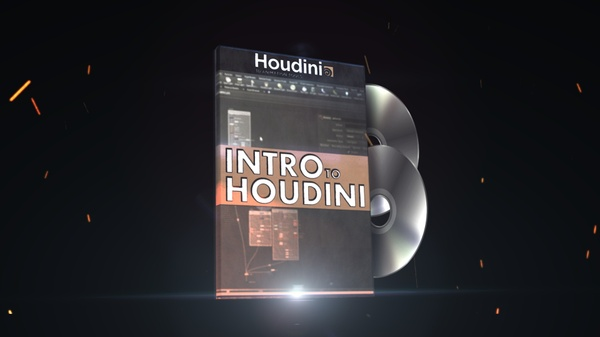 INTRO TO HOUDINI - full cours