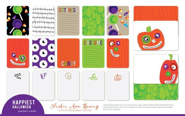 Happiest Halloween - Pocket Cards