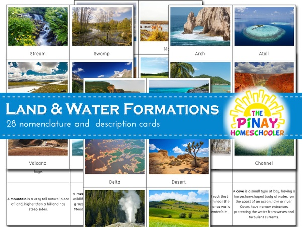 Real World Land and Water Formations