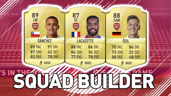 FIFA 18 SQUAD BUILDER THUMBNAIL