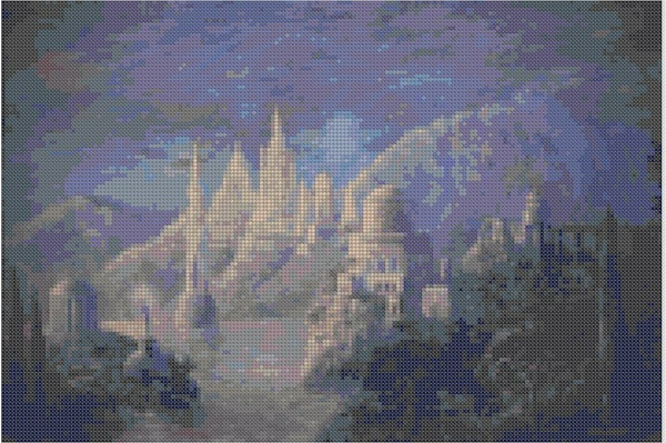 cross stitch pattern Mar-033c
