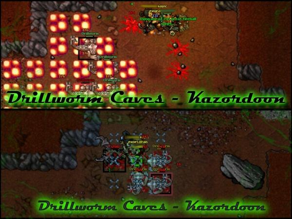 [EK/RP][FACC/PACC] Drillworm Caves - Kazordoon