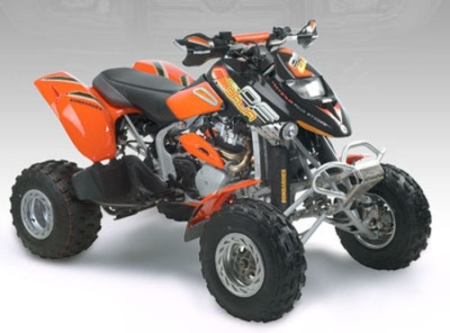 2003 Bombardier Traxter Quest DS650 Outlander Rally ATV Service Repair Manual
