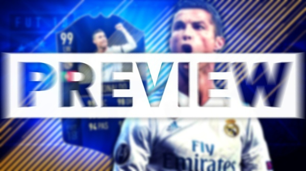 FIFA 18 TEAM OF THE YEAR RONALDO THUMBNAIL TEMPLATE