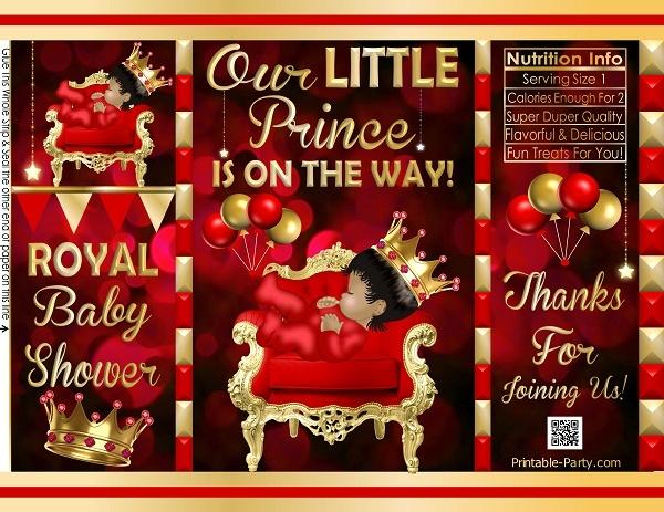 POTATO-chip-favor-bags-royal-PRINCE-BABY-SHOWER-REDgold-5