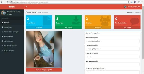 Belbox Sistema para compartir archivos
