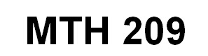MTH 209 Week 1 Quiz