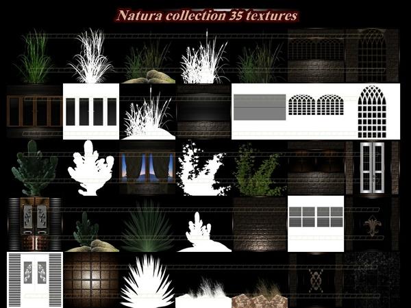 Natura collection 35 textures