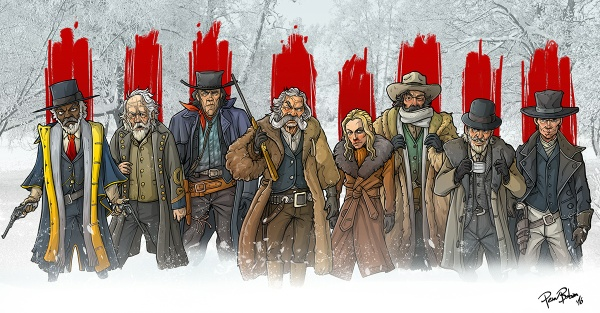 The Hateful Eight Fan Art