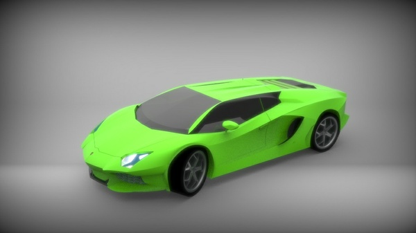 Lamborghini Aventador 3D model (solidworks 2016)