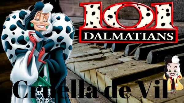 101 Dalmatians - Cruella de Vil - Piano Cover - Marco Tornatore