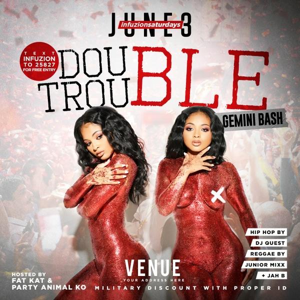 Double Trouble - Zodiac Flyer