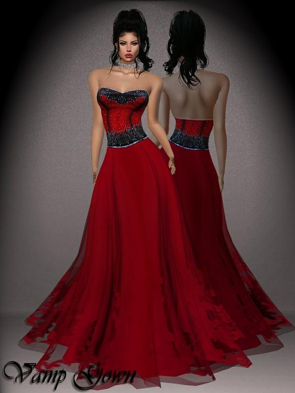 Vamp Gown GA