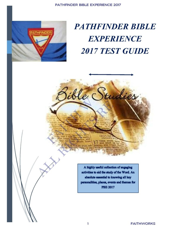 PBE 2017 GUIDE & ACTIVITIES