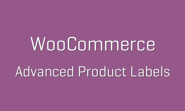 WooCommerce Advanced Product Labels 1.1.4 Extension