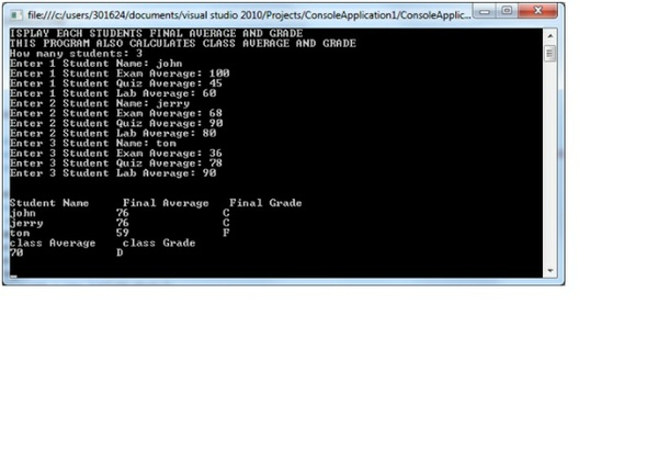 Professor Higgins scenario Program Solution in C#
