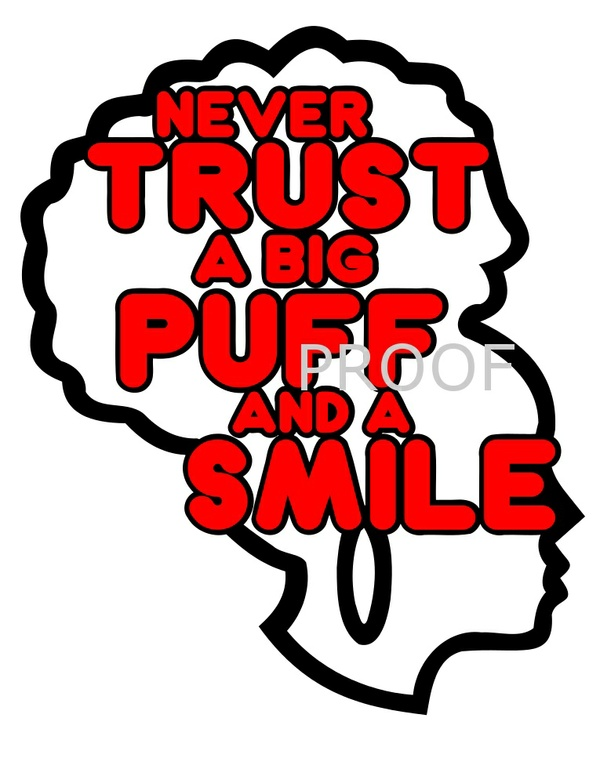 Afropuff and a Smile SVG only
